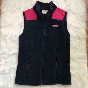 Vineyard Vines Fleece Shep Vest Size XXS